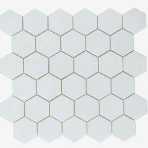 Mosaic Thasos Hexagon