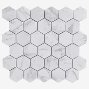 Mosaic Volakas Hexagon